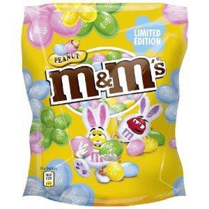 M&M's Peanut Colour Edition Standbeutel 190g (3er Pack/eingeschr. MHD)