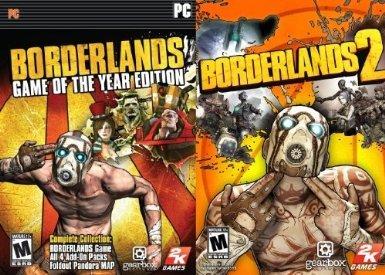 Borderlands GOTY + Borderlands 2 für nur 8,75€ - amazon.com!
