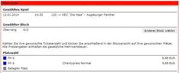 Kölner Haie Lanxessarena Tickets ab 8,88 anstatt 22 € 12.01.2014 vs Augsburg
