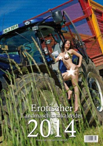 [noch heißer als Karpfen] erotischer Landmaschinenkalender 2014 bei amazon