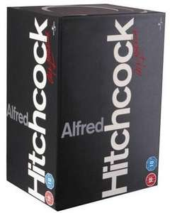 Hitchcock 14 Disc Box Set [DVD] bei Amazon.co.uk für 18.60 € inkl Versand