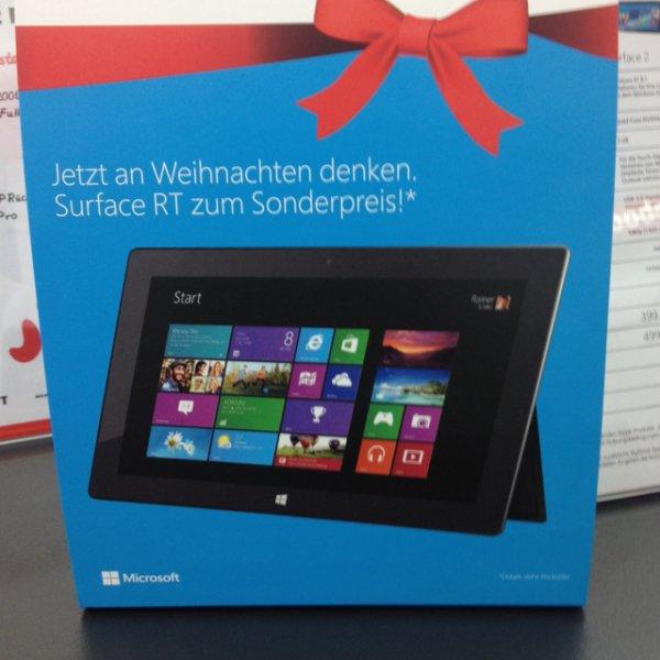 Surface RT 1 mit 64gb für 274€ bei Mediamarkt Hamburg Wandsbek