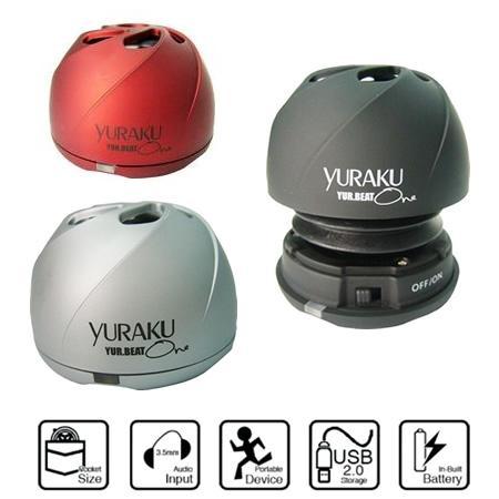 Yuraku Yur.Beat One Lautsprecher für unterwegs