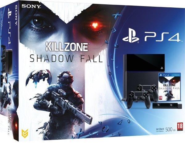 Playstation 4 Bundle verfügbar ab (vor.) dem 31.01.14: Playstation 4 + Killzone: Shadow Fall + 2 Dualshock 4 Controller + Playstation 4 Kamera
