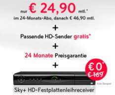 Sky + Go + HD + Multi-Feeds für 24,90 EUR (2 Pakete) / 34,90 EUR (3 Pakete) @Sky
