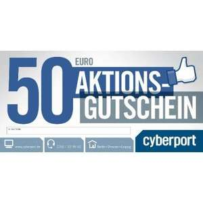 es geht weiter : 50 Euro Gutschein für nur 25 Euro bei Cyberport (50% Rabatt)