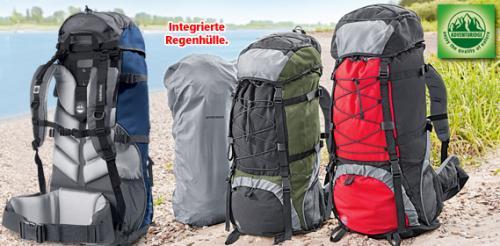 Trekkingrucksack 75l mit verstellbaren Tragriemen bei ALDI Süd für 29,99€ (ab Montag)