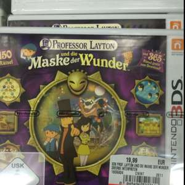[Lokal - Chemnitz] Professor Layton und die Maske der Wunder für 3DS