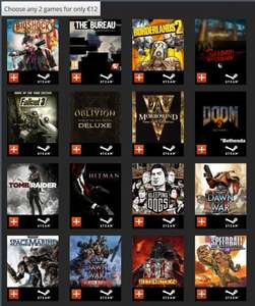 Getgames Get Loaded -  2 für 12 € Bioshock Infinite Shadow Warrior
