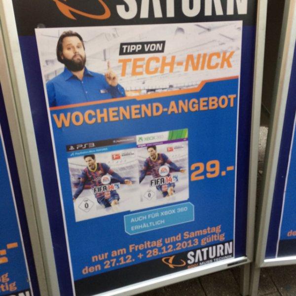 (Lokal Dortmund) Fifa14 PS3 / XBOX360