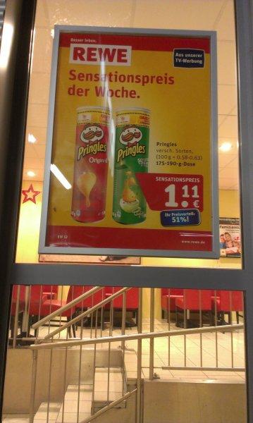[Bundesweit] Pringles Dosen pro Stück 1,11€ (@Rewe)
