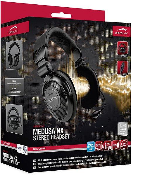 Speedlink Medusa NX Stereo Gaming Headset - B-Ware für 21,19€ (oder neu für 25,49€) - 30% unter Idealo