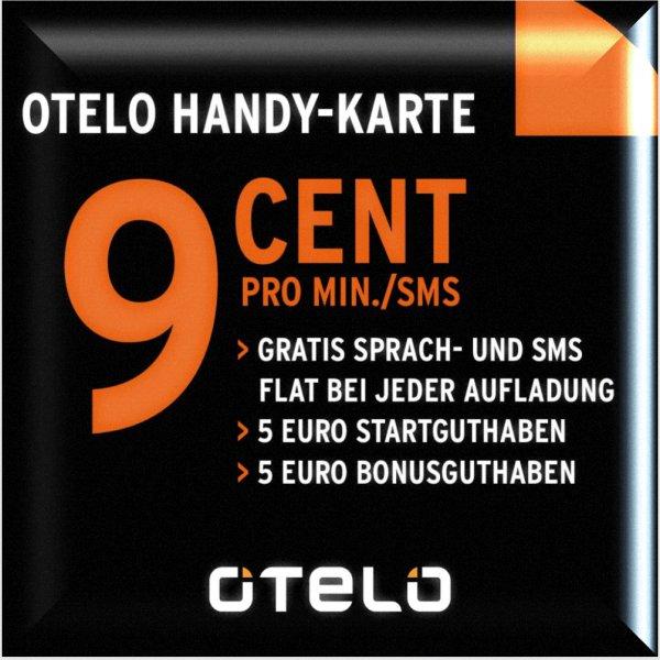 [eBay] KOSTENLOS: otelo Prepaid Handy SIM Karte (Vodafone) mit 5,00€ Startguthaben