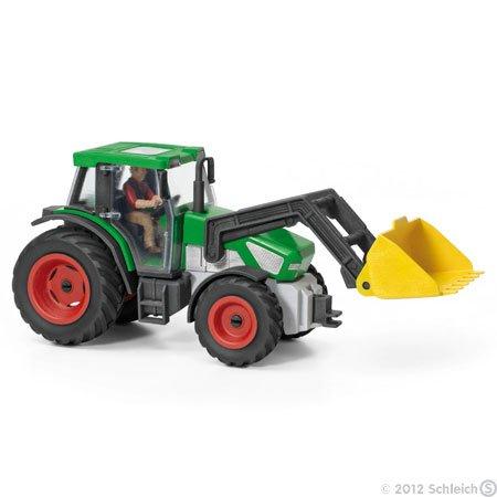 Schleich 42052 Traktor mit Fahrer bei real- für  9,99