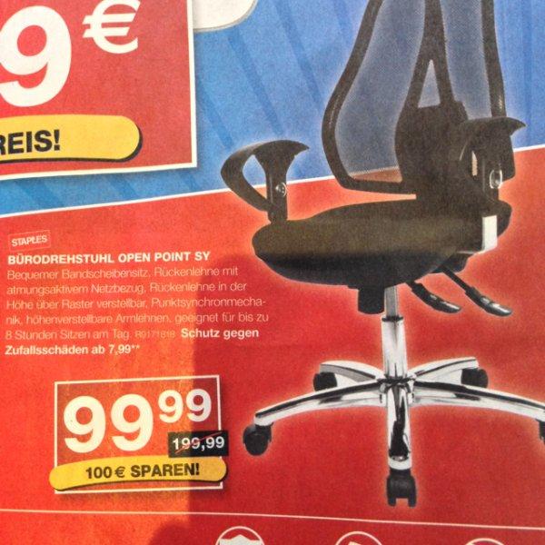 Open Point SY bei Staples für 99,99€