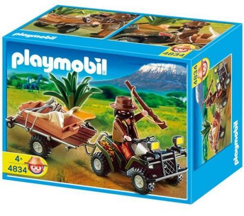 PLAYMOBIL® 4834 - Wilderer-Quadgespann [@toysrus.de]