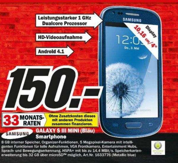 Samsung Galaxy S3 Mini 150€ Lokal [Mediamarkt Potsdam]