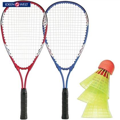 Rossmann Ideenwelt Turbo-Badminton-Set  -  wie Speedminton