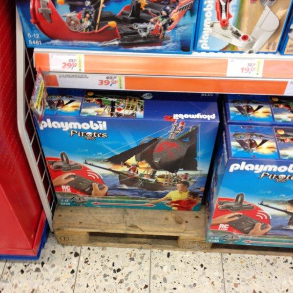 Playmobil Piratensegler mit RC Modul 5238