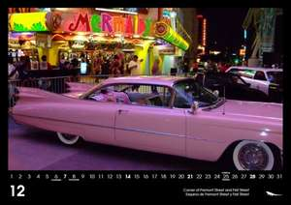Las Vegas 2014 Wall Calendar DIN A3 von Leguan Verlag
