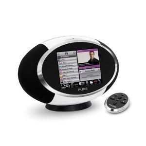 Sensia Pure Designradio WLAN, DAB+ mit Touchscreen und Apps