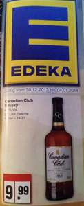 Canadian Club EDEKA Nordwest für 9,99€