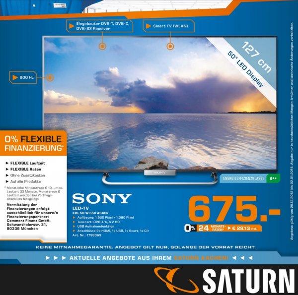 Sony KDL-50W656 für 675€ Lokal [Saturn Aachen] SUPERANGEBOTE!