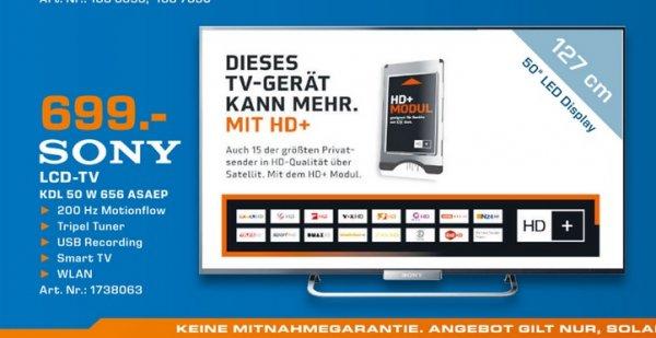Sony KDL-50W656 für 699€ Lokal [Saturn Mönchengladbach & Rheydt]