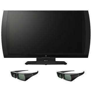 Sony Computer Entertainment 3D Bildschirm + 2x 3D Brillen (inkl. Killzone 3 + Gran Turismo 5 USK)