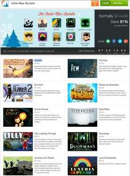 10 Spiele im Indie Mac Bundle für 19,95€ - 14,50€