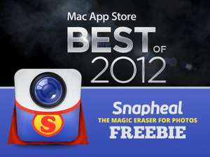 Snapheal Holiday Freebie: Mac App Store Best Of 2012 ?hat $15 gekostet?
