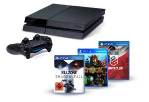 PlayStation 4 – Konsole inkl. Killzone: Shadow Fall, Knack und DriveClub vorbestellbar
