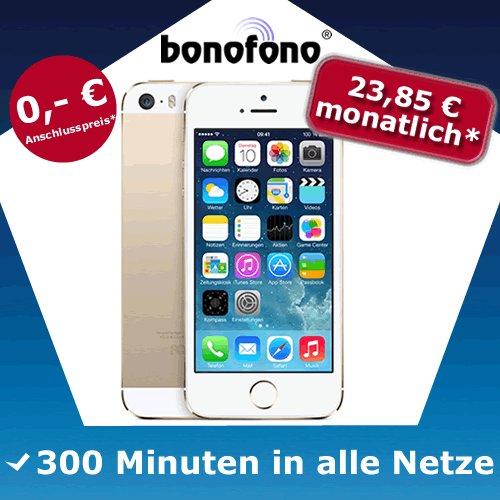 Iphone 5s 16GB Silber kein SIM-Lock kein Netlock (3xSchubladenvertrag!?)