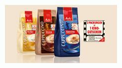 Melitta Kino Aktion 2 x Cappuccino kaufen 1 Kinoticket gratis!