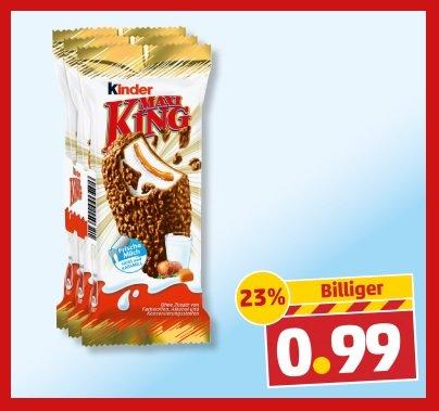 KINDER Maxi King 3 Stk. 0,99€ [Penny]