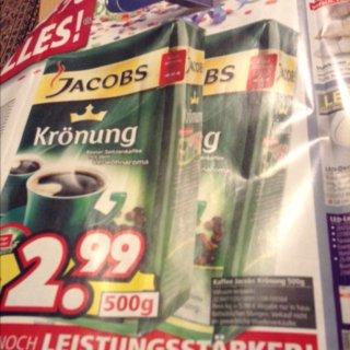 (Lokal und offline) jacobs krönung 500gr für 2,99€ @ segmüller weiterstadt