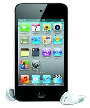 Apple iPod touch 4G 32GB  inklusive Philips SHE8000 In-Ear Kopfhörer, 276,99€
