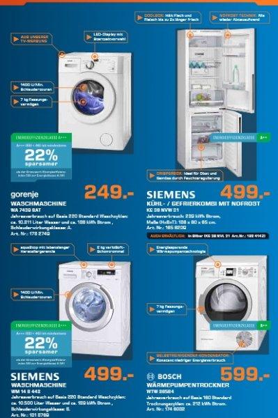 Siemens WM14S443 Waschmaschine ( ehemaliger Stiftung Warentest Sieger )