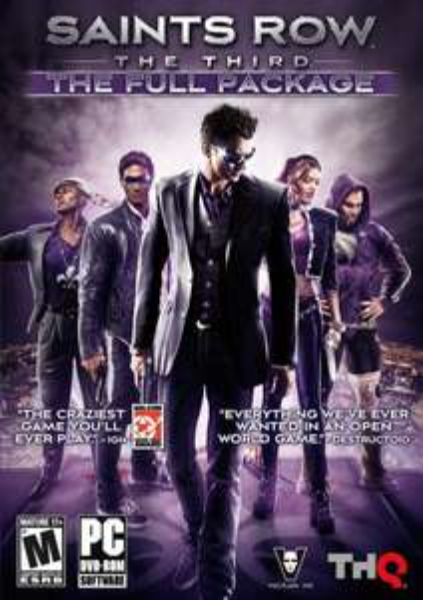 Saints Row the Third - The Full Package [Steam] für 5,45€ @Amazon.com