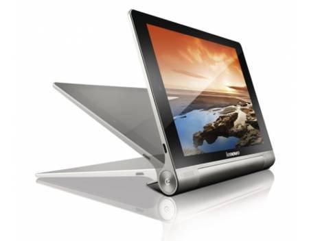 Lenovo IdeaPad Yoga Tablet (10 Zoll HD ARM MTK 8125, 1GB RAM, 16GB eMMC, Android 4.2) silber für 242,91 € @ MP OHA