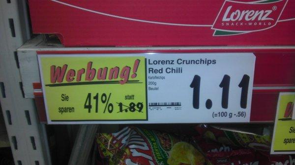 Kaufland Köln Mülheim Lorenz Chrunchips,paprika,Limited Edition,Puszta Style,Cheese u. Onion usw.