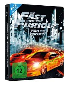 [Amazon Prime] The Fast and the Furious: Tokyo Drift - Steelbook  Blu-Ray