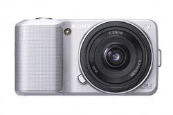 Sony NEX 3 + 16mm 2.8 in silber oder rot