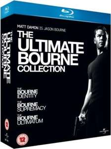 The Ultimate Bourne Collection Blu-ray 3 Blu-Rays 9,95€ @zavvi