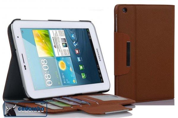 Cadorabo! Premium Ultra Slim Case Tasche für Samsung Galaxy Tab 2 7.0 P3100/ P3110