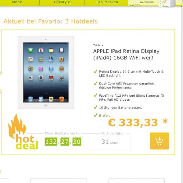 iPad 4  B -ware