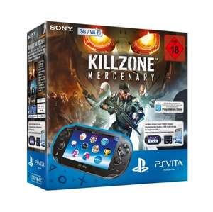 {Amazon.de} Sony PlayStation Vita (WiFi/3G) inkl. Killzone Mercenary (DLV) + 8GB Memory