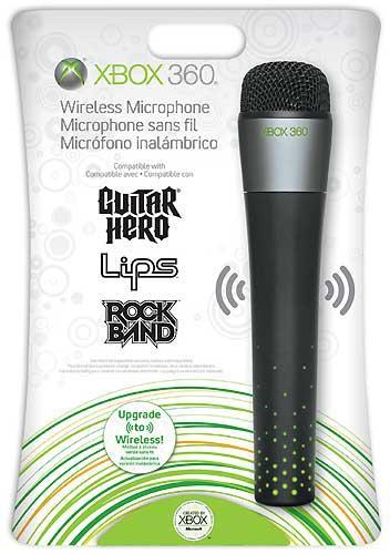 Microsoft Xbox 360 Wireless Mikrofon [@zavvi.com]