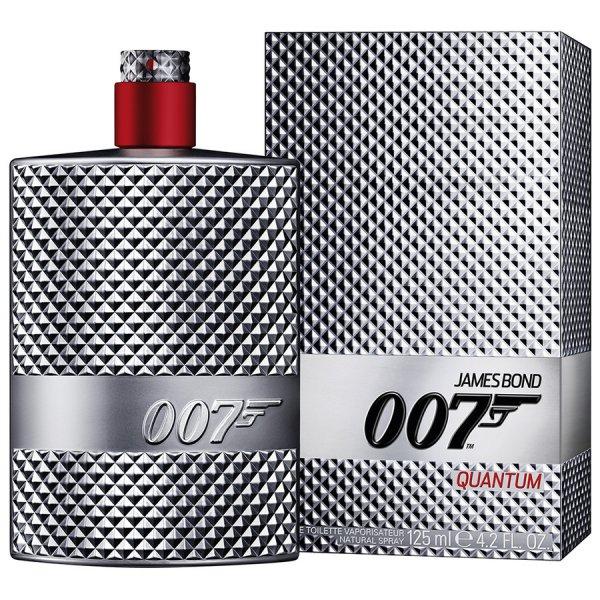 Douglas: James Bond 007 - Quantum EDT 125 ml + 5 Getränkeuntersetzer in Box + Maske + 2 Proben für 25,48