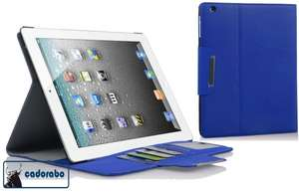 Cadorabo ® Premium Schutzhülle in blau oder schwarz für iPad 2/3/4